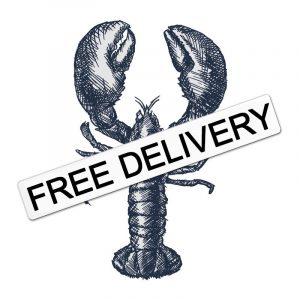 free delivery fresh obsters london